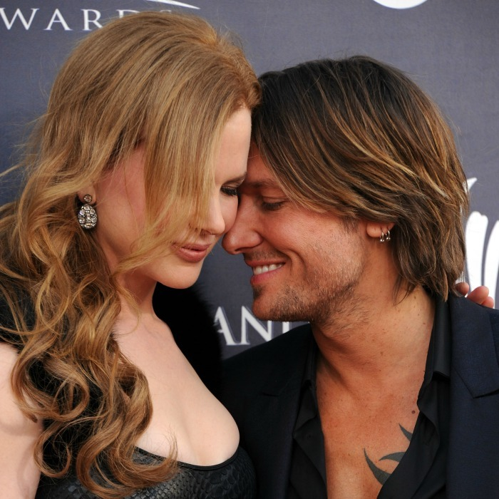 The pair couldn't have looked more in love at the 2011 Academy Of Country Music Awards.