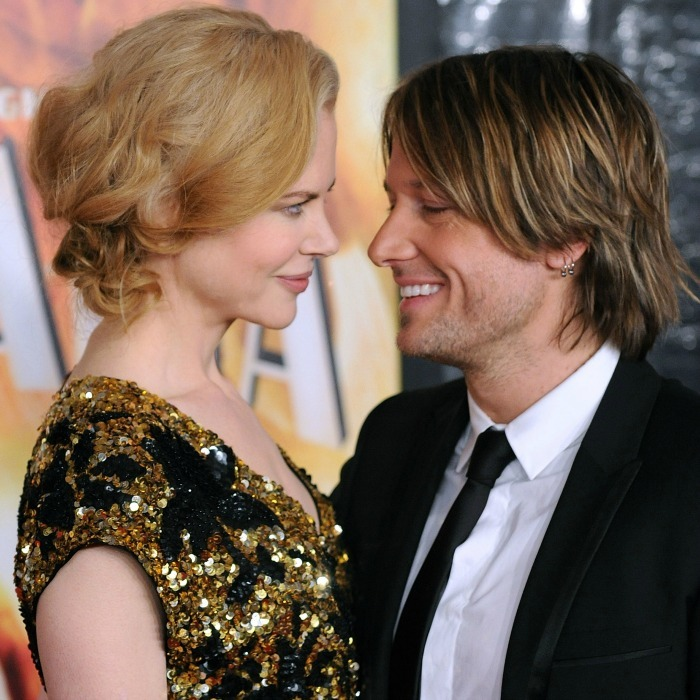 The pair only had eyes for one another at the 2008 premiere of <i> Australia</i>.