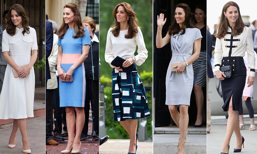 Kate Middleton 39 S Spring Summer Wardrobe Look By Look Hello Us