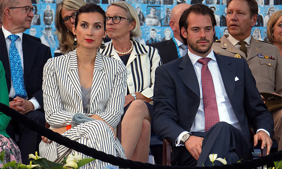 Princess Claire Of Luxembourg Wows At National Day Celebrations