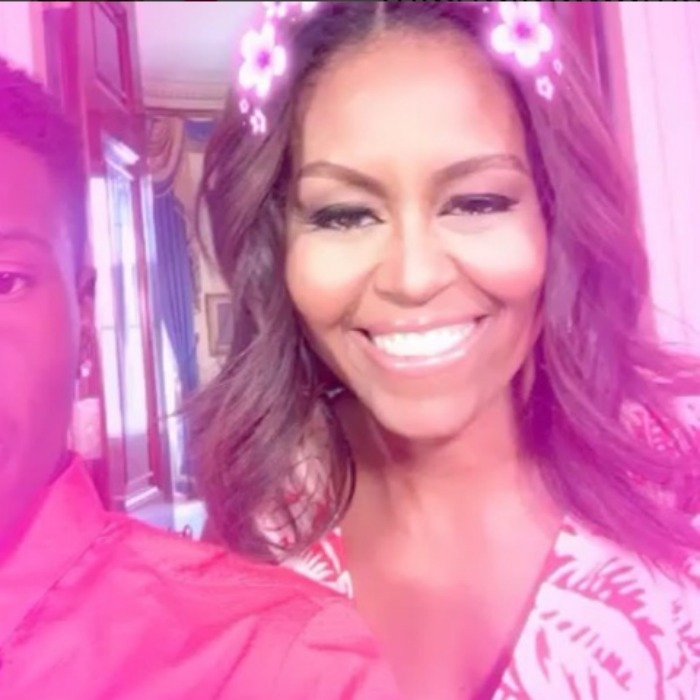 <b>2. She joined Snapchat</b>