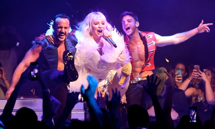 June 23: Kesha kept the party going during the kick off to her mini-residency at Intrigue Nightclub at Wynn Las Vegas. 