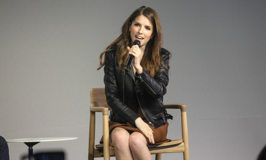 June 20: Anna Kendrick talked about her new film <i>Mike And Dave Need Wedding Dates</i> in NYC. 