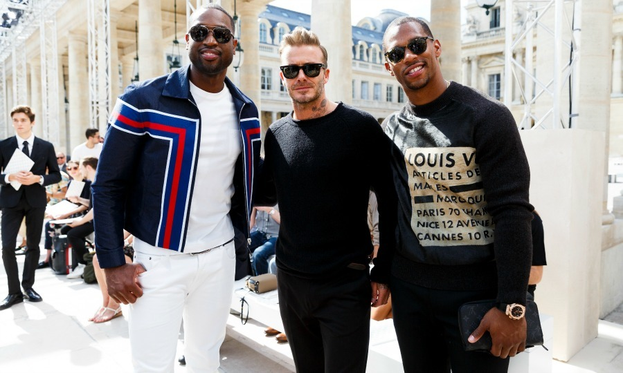June 23: Dwyane Wade, David Beckham and Victor Cruz went from athletes to stylish gentleman during the Louis Vuitton Menswear Spring/Summer 2017 show in Paris. 