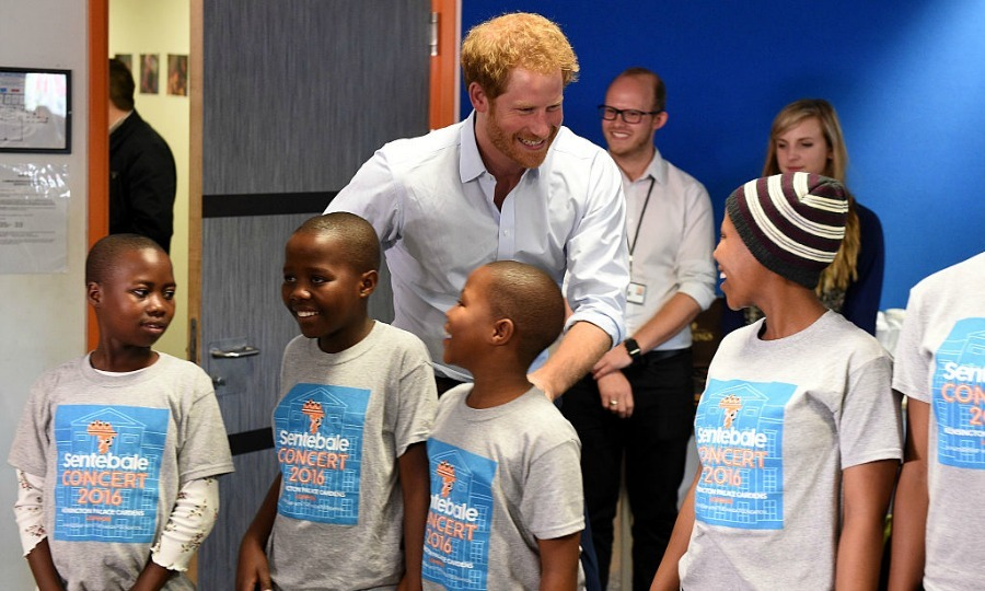 Surprise! Prince Harry popped into the Basotho Youth Choir's rehearsal session on June 27, ahead of the group's exciting gig at Kensington Palace.