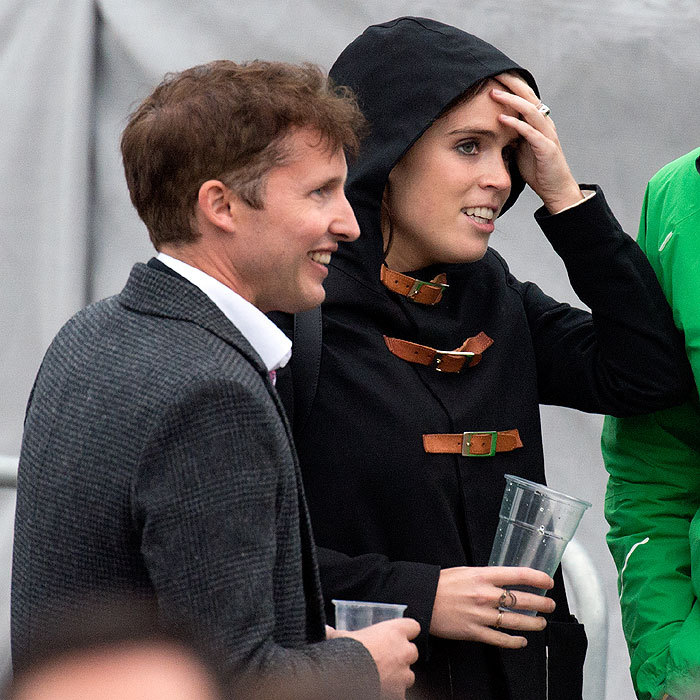 "<a href=""https://us.hellomagazine.com/tags/1/princess-eugenie/""><strong>Princes Eugenie</strong></a> hangs with British singer James Blunt