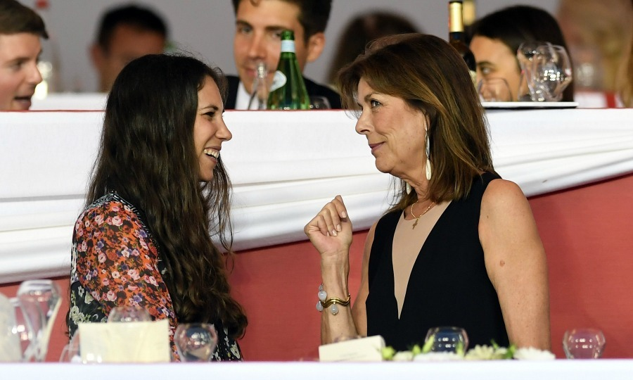 Tatiana Santo Domingo and Princess Caroline chatted during the Longines Global Champions Tour of Monaco.