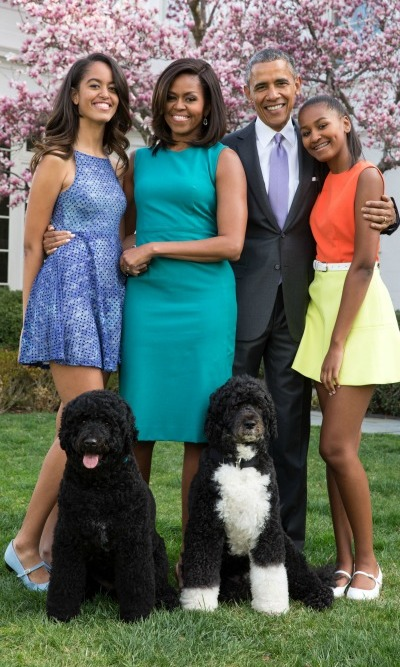 Malia parents promised to instill a sense of normalcy into her and Sasha's lives.  