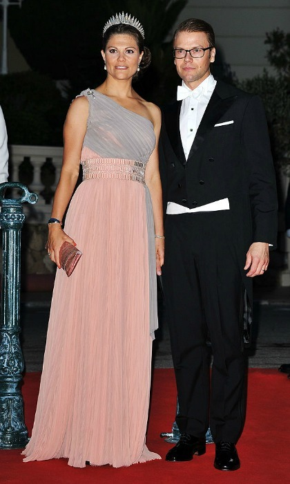 Also in attendance for the celebrations were Crown Princess Victoria of Sweden and her husband Prince Daniel.