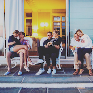 Taylor's best friend Britany LaManna showed off major #relationshipgoals with her husband, Blake Lively and Ryan Reynolds and Taylor Swift, who couldn't keep her eyes off of Tom Hiddleston, at the BBQ.