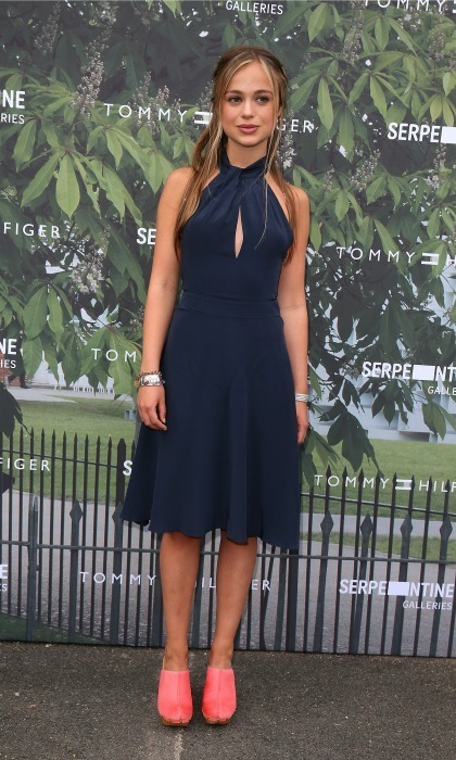 Lady Amelia Windsor Makes A Stylish Appearance At