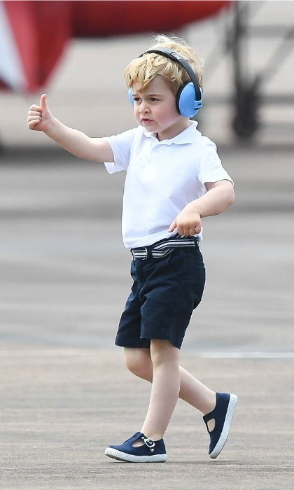 Overall it looked like George's visit to the RIAT Air show received a giant thumb's up!