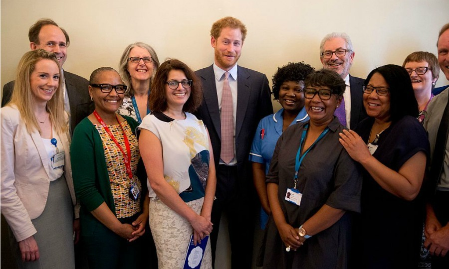 "<a href=""https://us.hellomagazine.com/tags/1/prince-harry"" target=""_blank""><strong>Prince Harry</strong></a> met with King's College Hospital staff members who are working to diagnose and treat HIV in London as part of his initiative to raise awareness for HIV/AIDS.