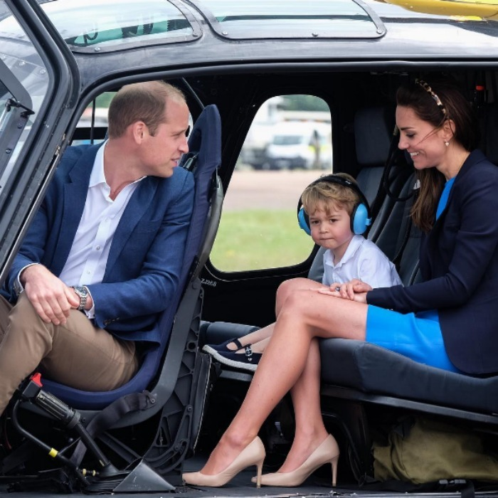 "<a href=""https://us.hellomagazine.com/tags/1/prince-george"" target=""_blank""><strong>Prince George</strong></a> was ready to take flight stepping out for his first engagement on UK soil alongside his parents <a href=""https://us.hellomagazine.com/tags/1/prince-william"" target=""_blank""><strong>Prince William</strong></a> 