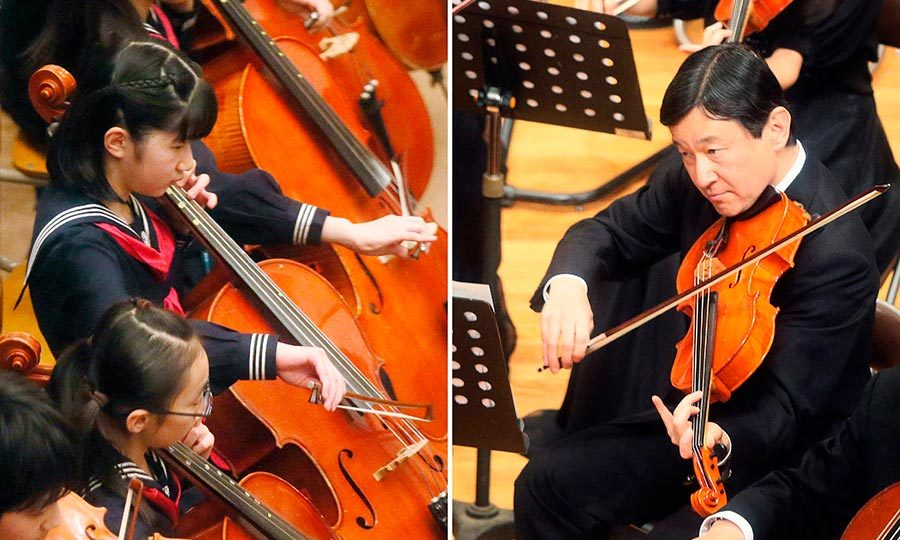 Prince Aiko and her father Prince Naruhito both took part in an orchestra concert for the alumni of Gakushuin University in 2013. During the concert, Aiko played the cello and her father, the viola.