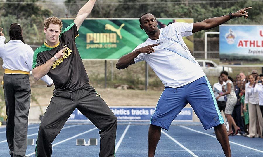 <b>He challenged the fastest man on the planet to a race, and won (kind of)</b>