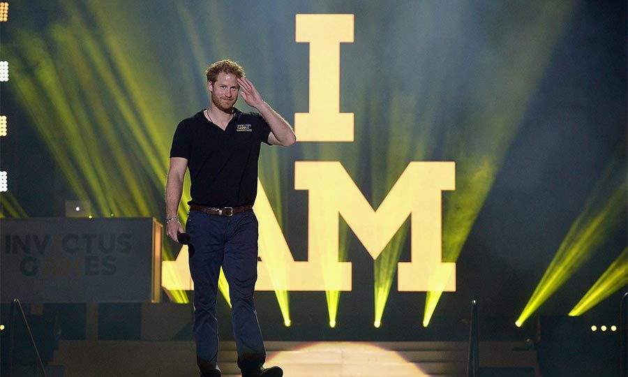 <b>He set up the Invictus Games for wounded service people</b>
