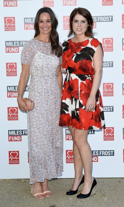 "<a href=""https://us.hellomagazine.com/tags/1/pippa-middleton/""><strong>Pippa Middleton</strong></a> and <a href=""https://us.hellomagazine.com/tags/1/princess-eugenie/""><strong>Princess Eugenie</strong></a> looked chic as they attended the Frost Family final summer party in London. 