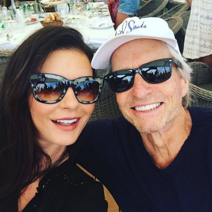 "<b><a href=""https://us.hellomagazine.com/tags/1/catherine-zeta-jones/"">Catherine Zeta-Jones </a> and Michael Douglas</b>