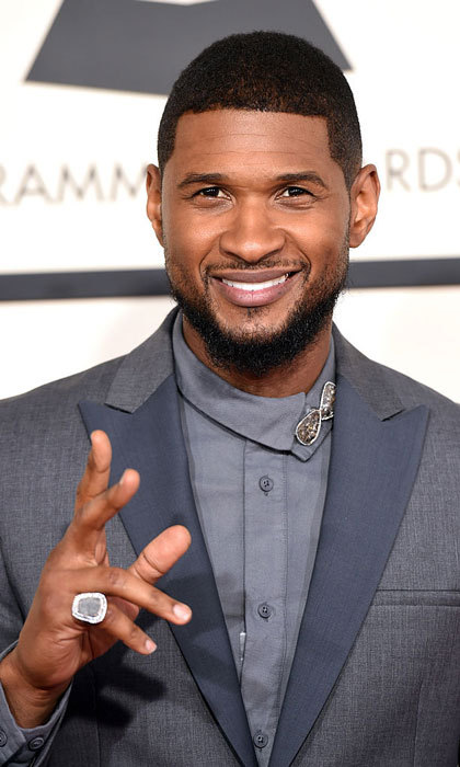 "<b>Guest Performer</b>: <a href=""https://us.hellomagazine.com/tags/1/usher/""><strong>Usher</strong></a>