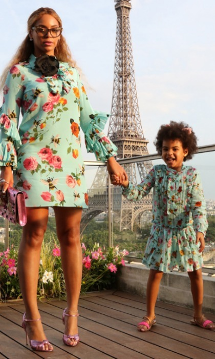 "<b><a href=""https://us.hellomagazine.com/tags/1/beyonce/""><strong>Beyoncé</strong></a> and Blue Ivy Carter</b>