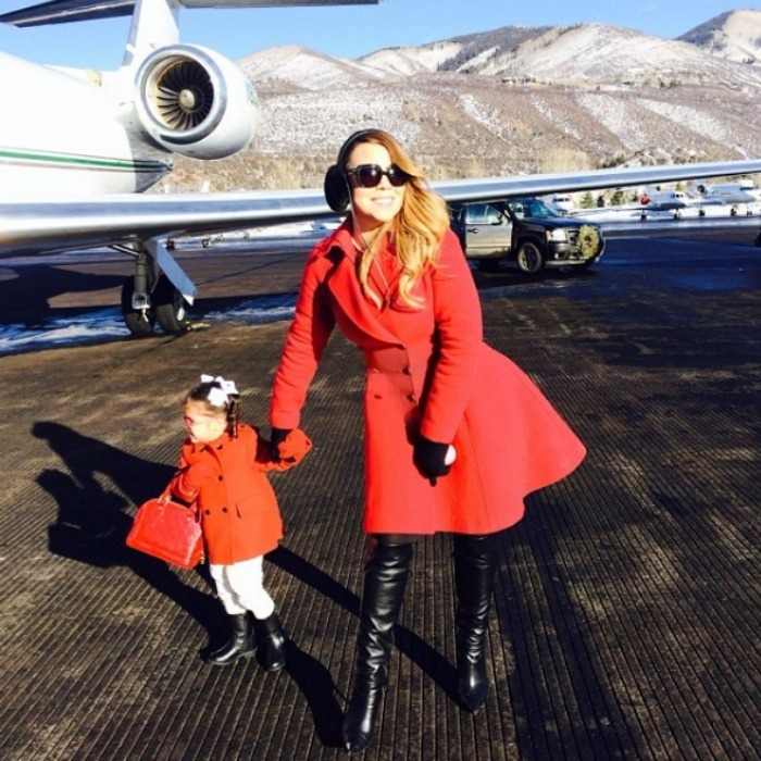 "<b><a href=""https://us.hellomagazine.com/tags/1/mariah-carey/""><strong>Mariah Carey</strong></a> and Monroe Cannon</b>