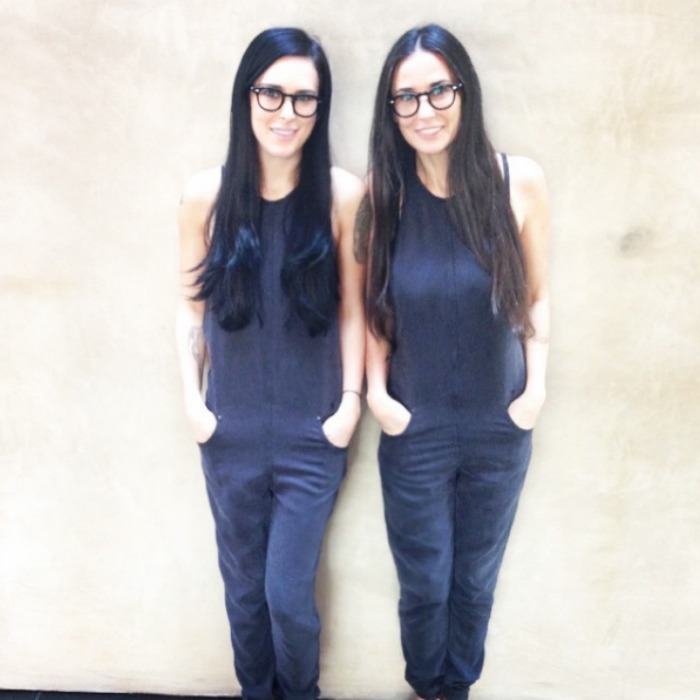 "<a href=""https://us.hellomagazine.com/tags/1/Demi-Moore/""><strong>Demi Moore</strong></a><b> and Rumer Willis</b>