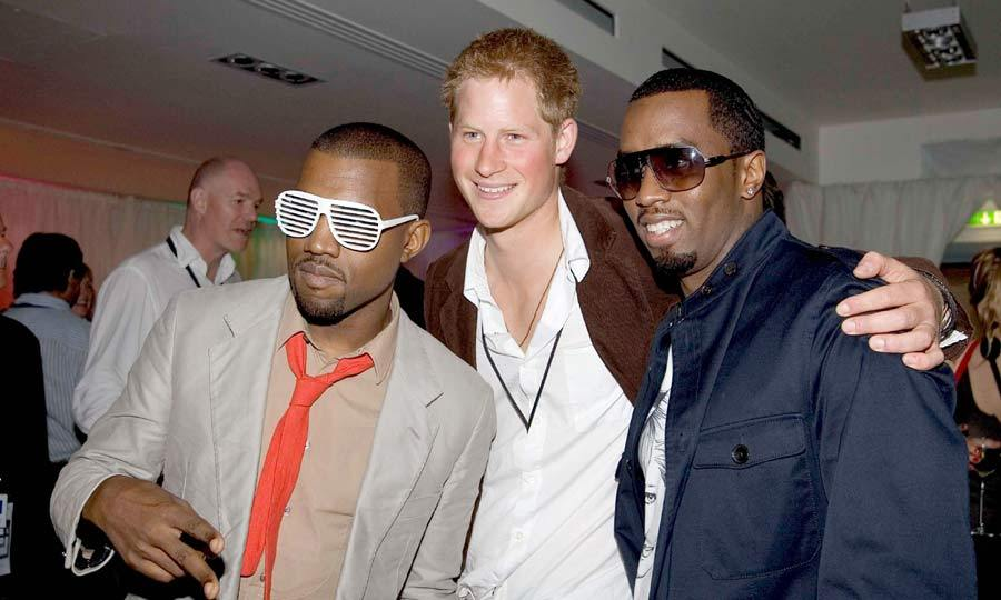 "<a href=""https://us.hellomagazine.com/tags/1/kanye-west/""><strong>Kanye West</strong></a><b> and P Diddy</b>