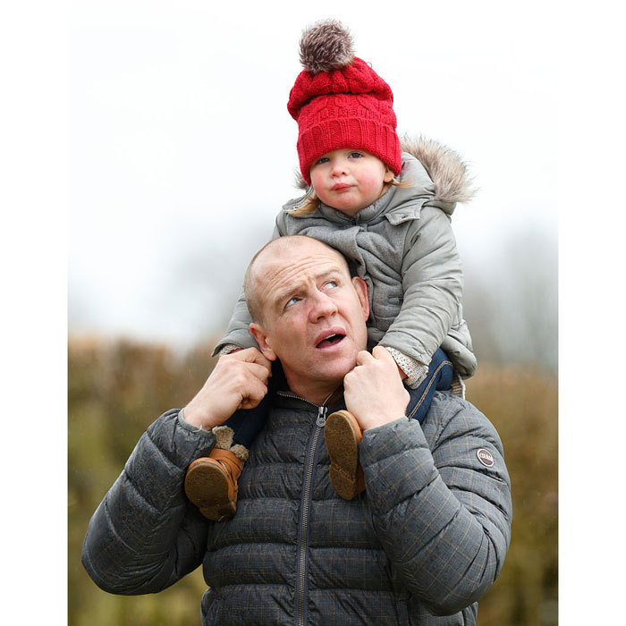"<a href=""https://us.hellomagazine.com/tags/1/mike-tindall/""><strong>Mike Tindall</strong></a> kept a watchful eye on daughter <a href=""https://us.hellomagazine.com/tags/1/mia-tindall/""><strong>Mia Tindall</strong></a>, while at the 2016 Gatcombe Horse Trails in Stroud, England. 