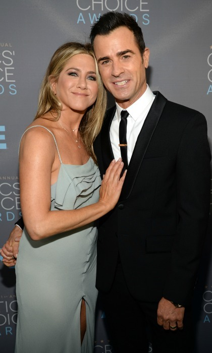 Justin and Jennifer were the perfect couple during the Critics' Choice Awards. 