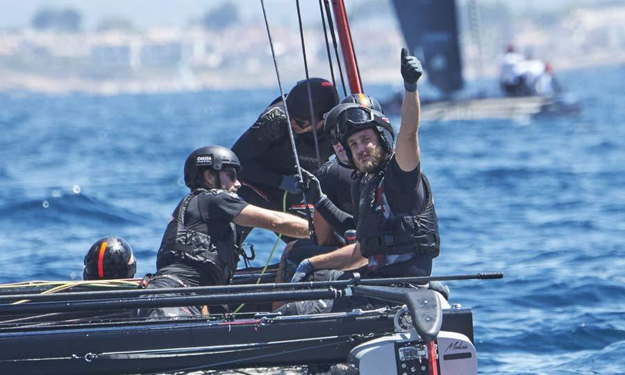 The royal was all smiles as he and his crew launched their boat into the waters. The team went on to do excellently well in the competition and even won one of the prestigious races.