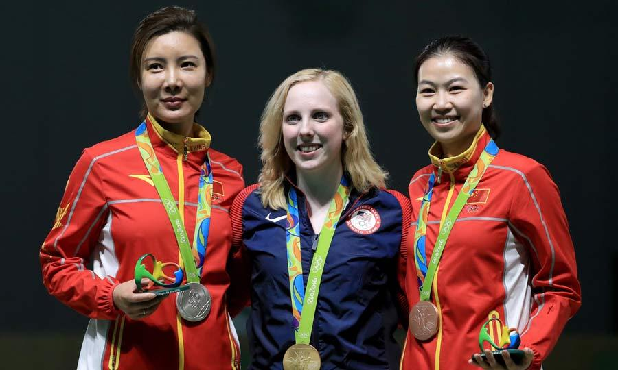 <b>Team USA takes home the first gold</B>