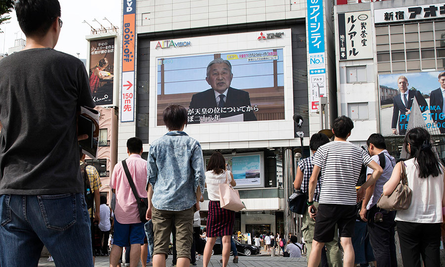 Locals in Tokyo were riveted as Japan's Emperor Akihito addressed the country in a rare video message. The 82-year-old royal expressed his concerns that his declining health would make it increasingly difficult to fulfill his duties – a statement which has sparked an abdication debate in Japan, where Emperors rule for life.