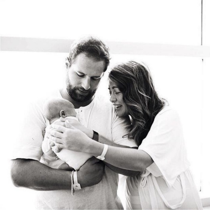 Jillian Harris and Justin Pasutto welcomed their son Leo into the world on August 5. The former <i>Bachelorette</i> star was bursting with excitement as she shared the news of her little man's arrival with her followers. 