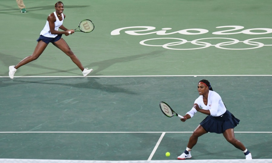 <b>Venus and Serena Williams' first-ever Olympics doubles loss</b>