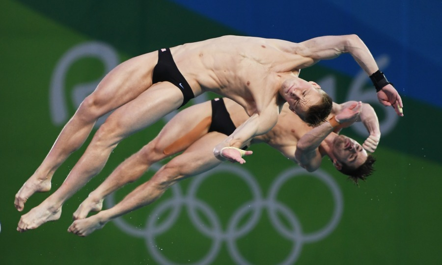 <b>David Boudia and Steele Johnson's diving Silver</b>
