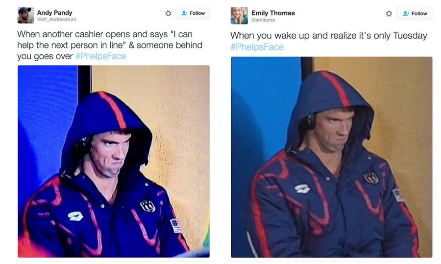 <b>#PhelpsFace</b>