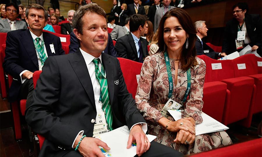 Crown Prince Frederik and Crown Princess Mary were all smiles when they attended the 129th International Olympic Committee session before the games began. Frederik was there in his official capacity as a member of the IOC, a position he has taken up since 2009.