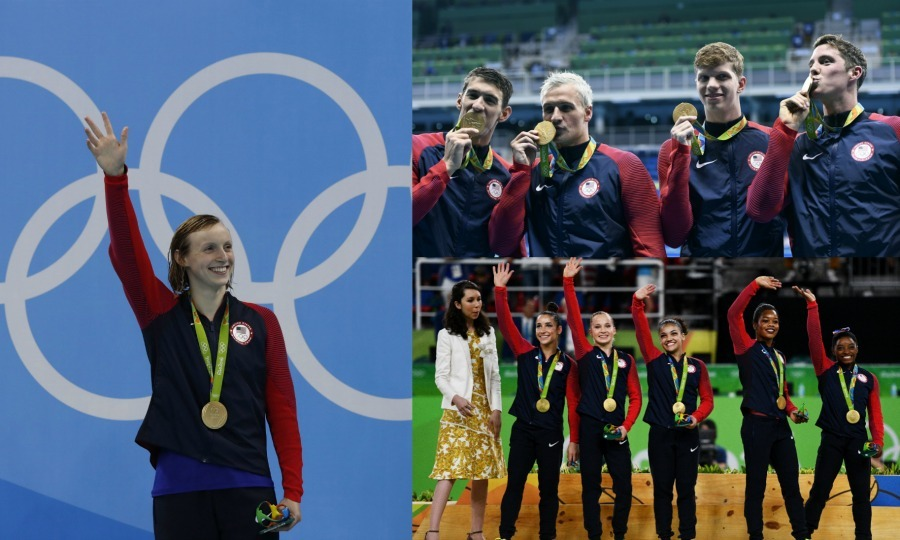 <b>Team USA's Golden Glory</b>