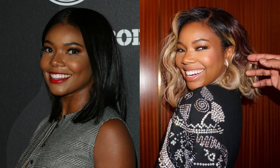 <b> Gabrielle Union</b> added an ombre touch by slowly going lighter towards the ends of her hair, mixed with glowing highlights throughout.