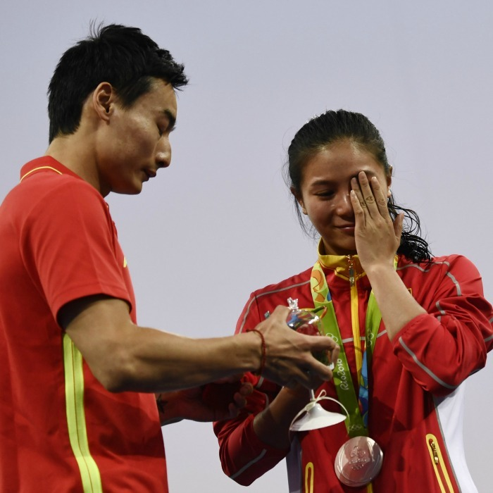 <b>China's He Zi's epic win and proposal</b>
