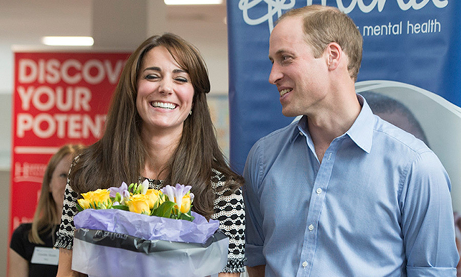 Prince William had his beautiful wife in stitches during an engagement together. 