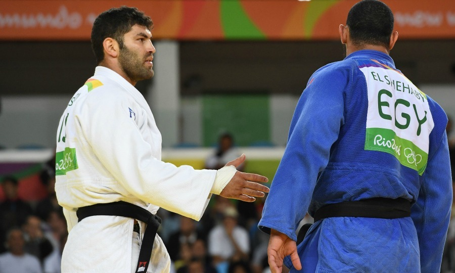 <b>Egyptian judoka El Shehaby sent home for refusal to shake his opponent's hand</b>