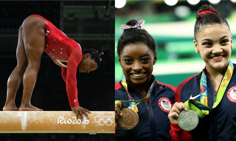 <b>Simone Biles falls on the beam, takes home the bronze</b>