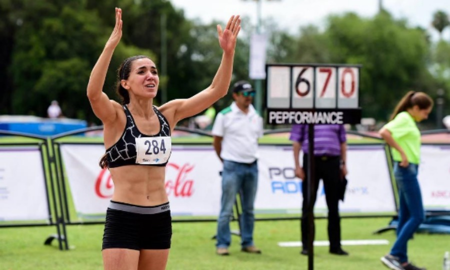 <b>Salma Hayek's cousin competes for gold</b>