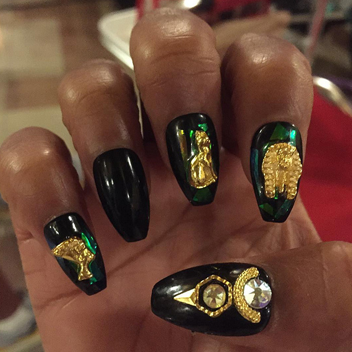 Kim Kardashian to Katy Perry: The best celebrity nails on Instagram ...