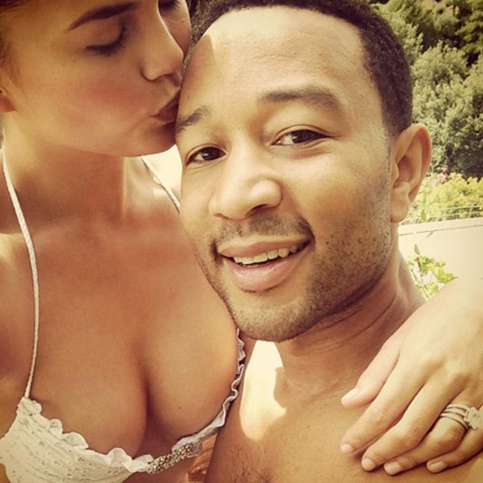 <b>Chrissy Teigen and John Legend</b>