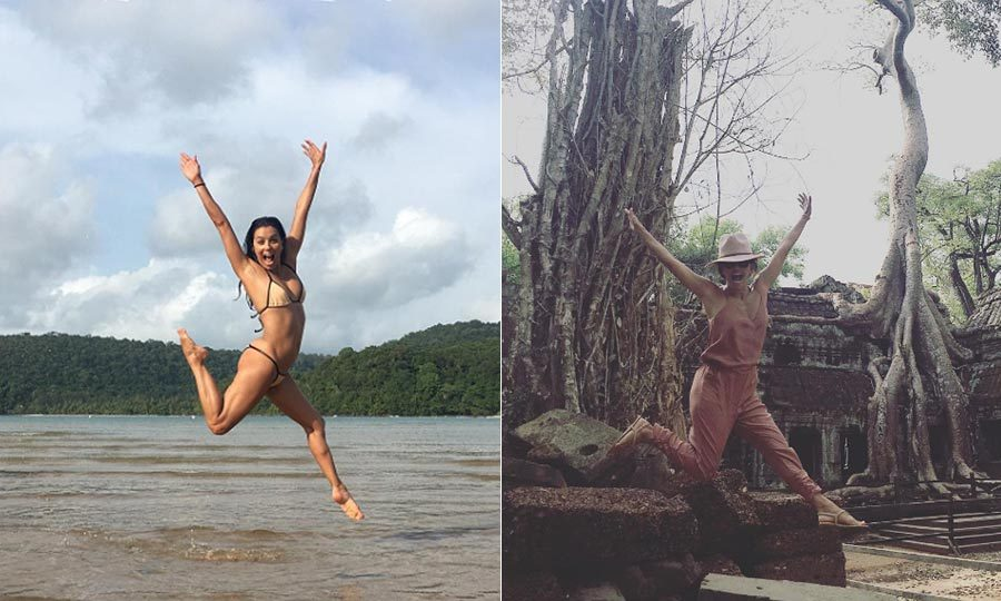 <b>Eva Longoria and José Bastón</b>