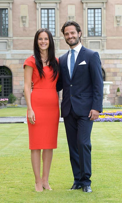 The couple officially announced their engagement on June 27, 2014.