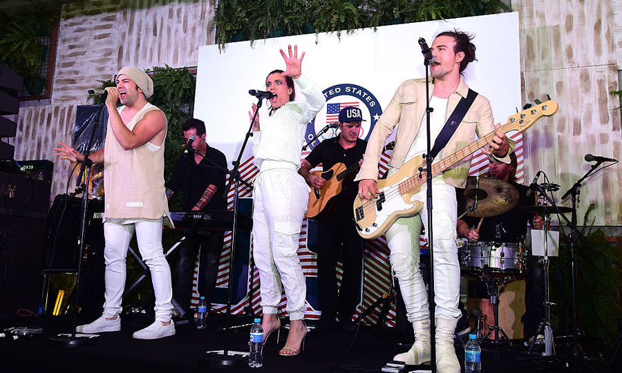 "Country group <b>The Band Perry</b> performed at the USA House during the Olympics. During a <a href=""https://www.facebook.com/thebandperry/""><strong>Facebook Live session</strong></a> the group said that the gig is ""the best party in Rio.""